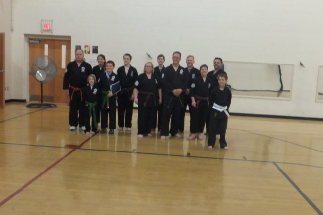 Karate Promotions at Sturgeon Bay YMCA