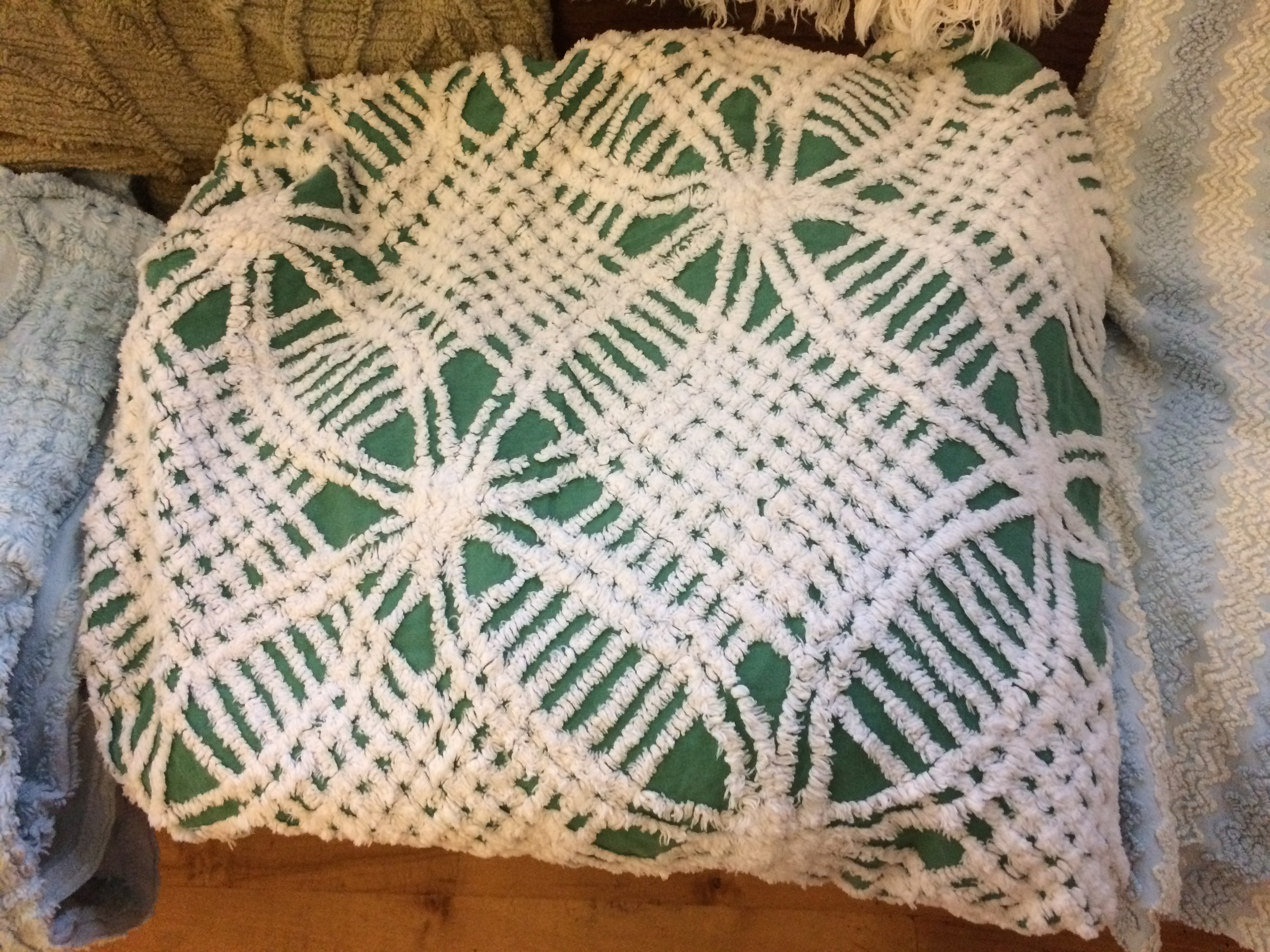 historical chenille bedspreads exhibit looking for loaners door county pulse - Chenille Bedspreads