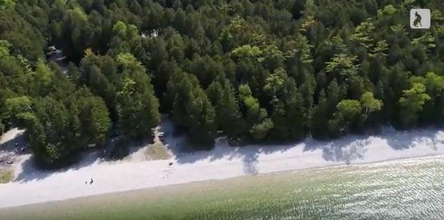 VIDEO: Schoolhouse Beach, Washington Island