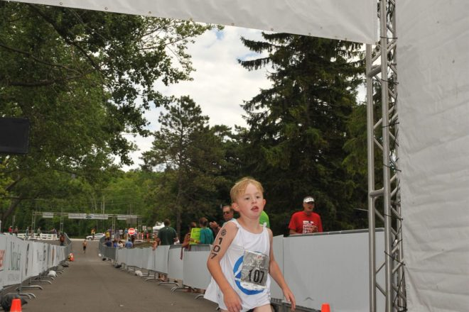 Kids' Triathlon Gives Big Stage to Little Athletes