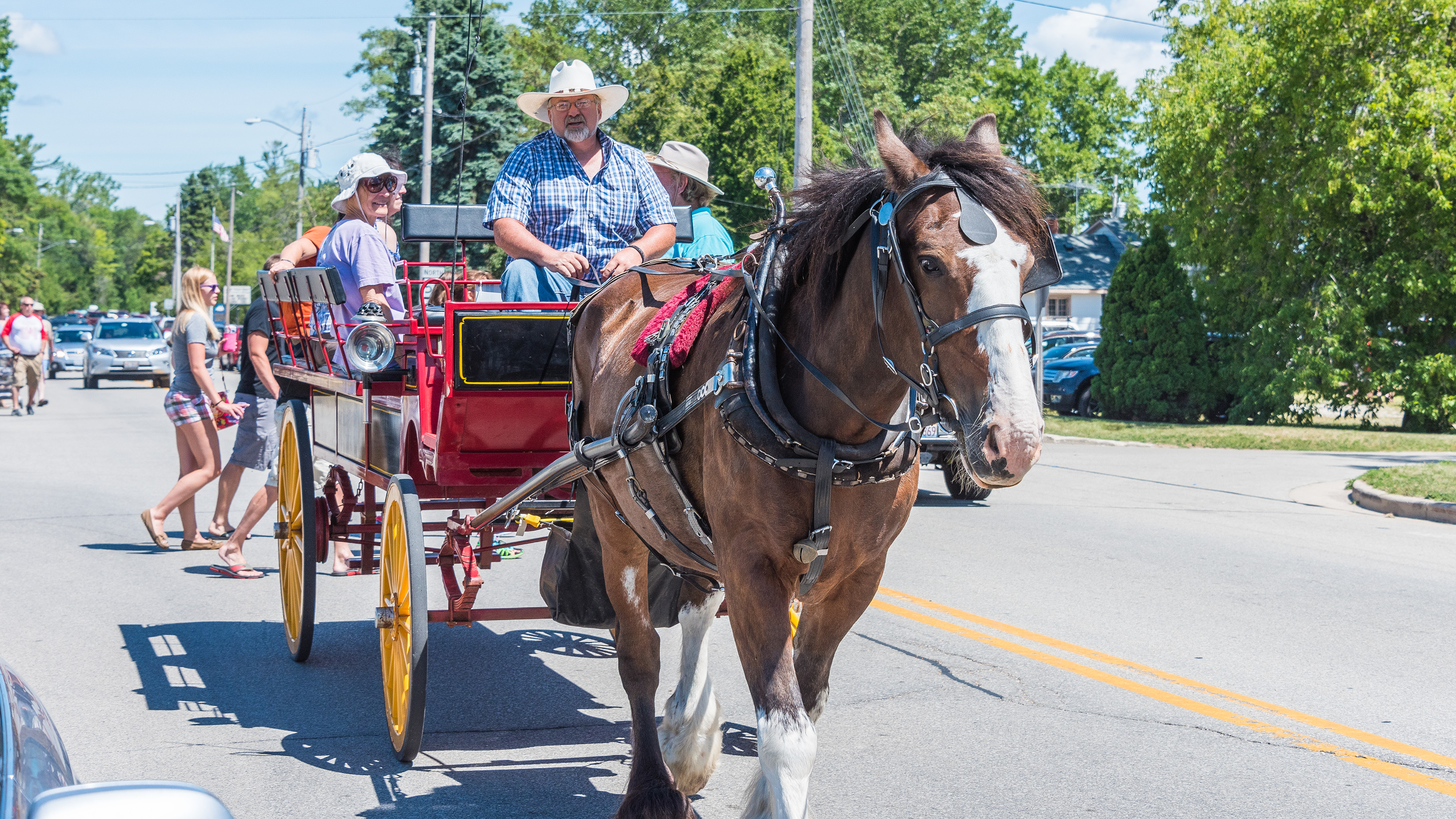 Cherry Festival in Jacksonport, Door County, WI. Photo by Len Villano.