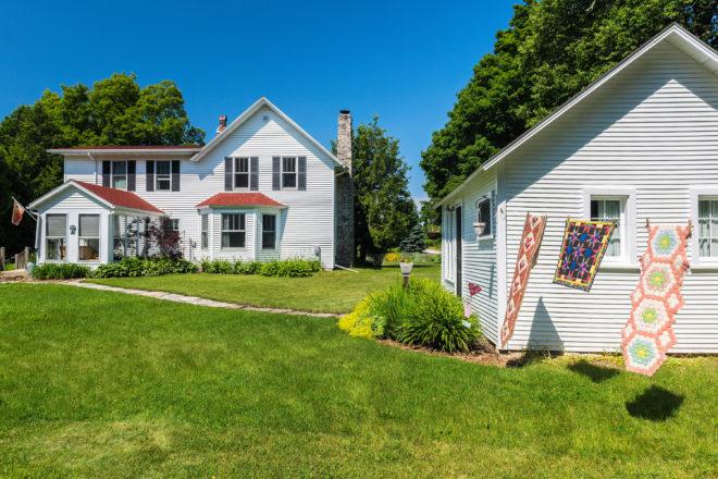 Ephraim Quilt Walk Highlights Historic Peninsula Farmhouse