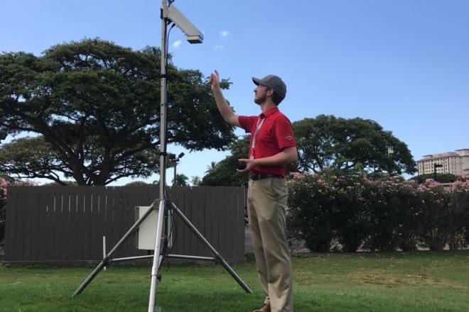 Washington Island's Worldwide Golf Weatherman