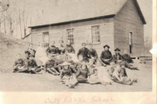 Claybanks school, June 1865