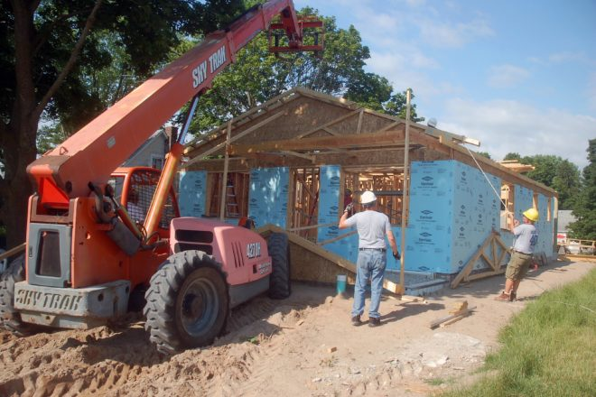 40th Habitat for Humanity Home Nearing Completion