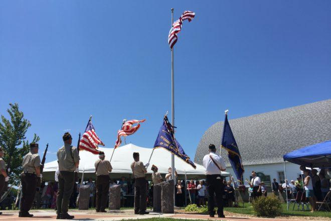 Military Honor Circle Dedicated in Ellison Bay