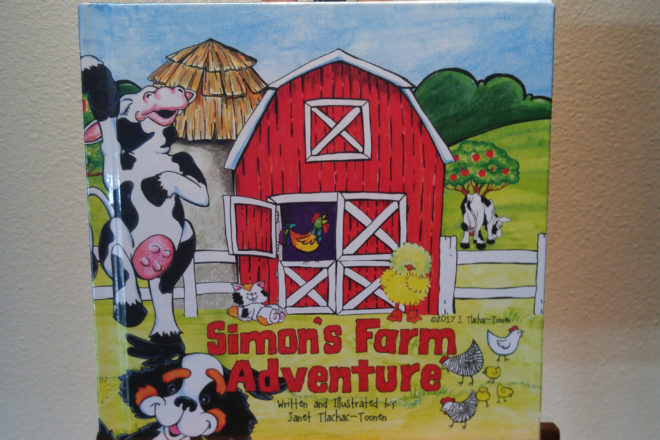Local Children's Book Author Releases 'Simon's Farm Adventure'