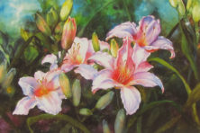 """Dancing Lilies"" by Connie Glowacki."