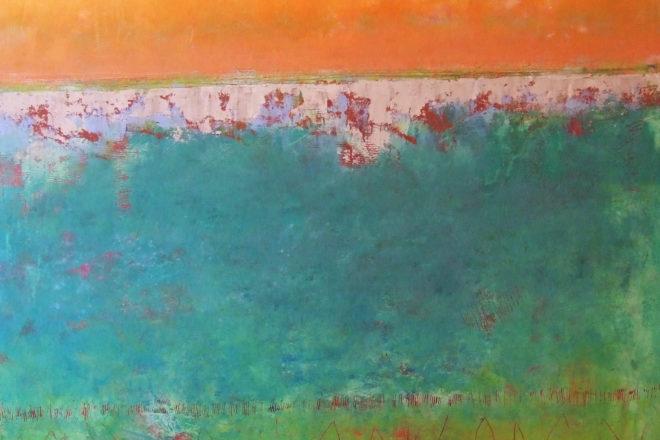 """First Wind"" by Ginnie Cappaert."