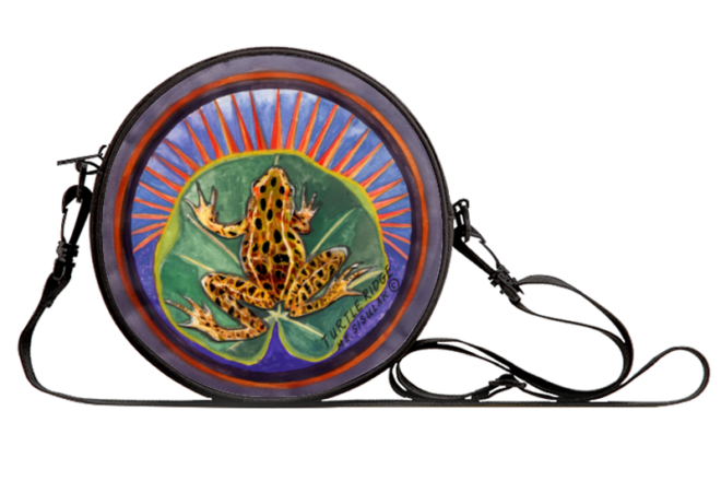 Turtle Ridge Introduces Canvas Bags with Original Paintings