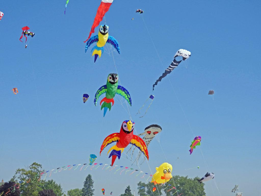 kites u0027soar on the shore u0027 of algoma u0027s crescent beach door county
