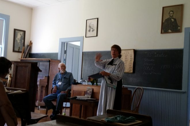 DCHS Hosts Early Settlers Program Aug 19