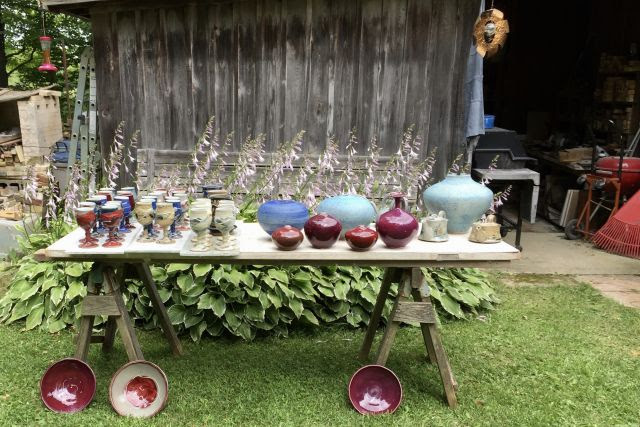 Ellison Bay Pottery Hosts Anniversary Party