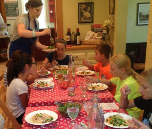 Savory Spoon Hosts Junior Chef Classes