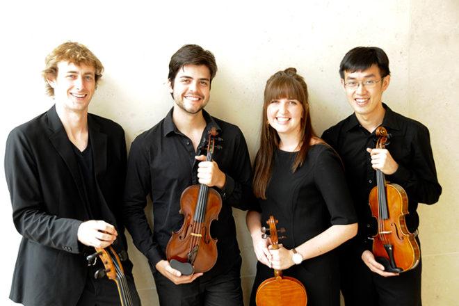 Award-winning Hunt Quartet Comes to Door Sept. 16