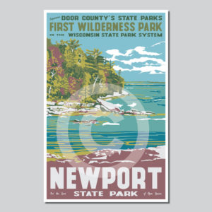 Peninsula State Park Poster Door County Pulse