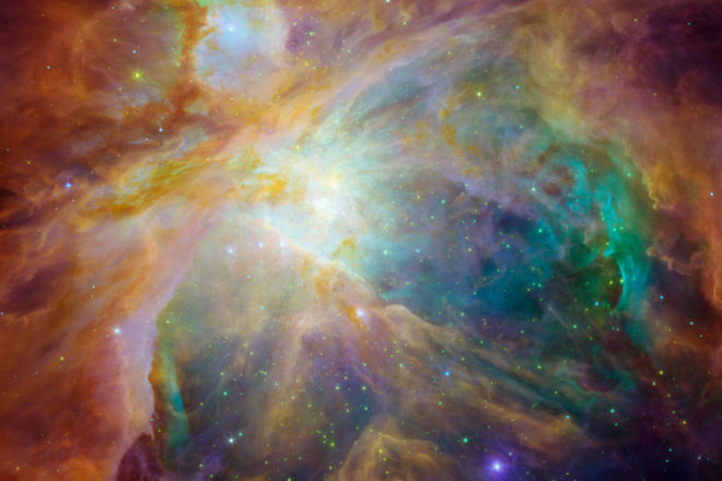 Eye On the Night Sky: The Colors of the Universe