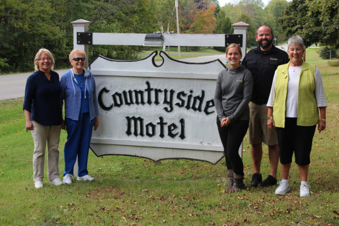 Fish Creek's Countryside Motel & Cottages Sold to Shane and Sande Solomon