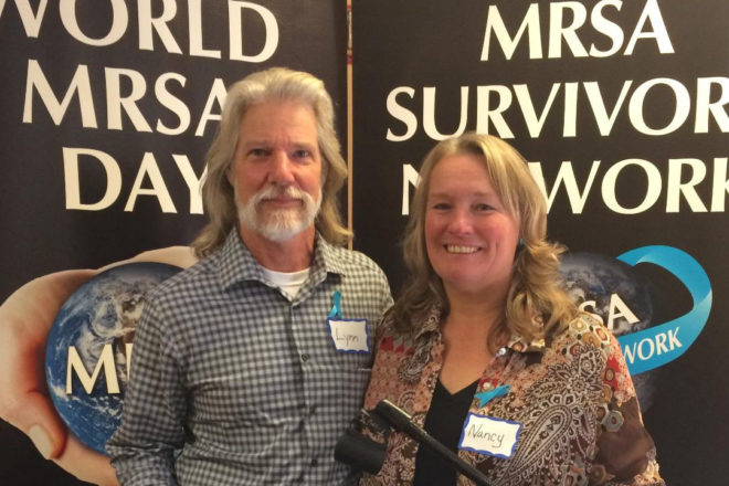 Utesches Receive MRSA Survivors Network's 'Persons of the Year Award'