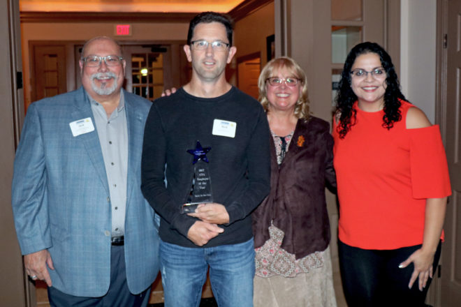 Jack Moneypenny Recognized for 10 Years of Service at DCVB Annual Meeting