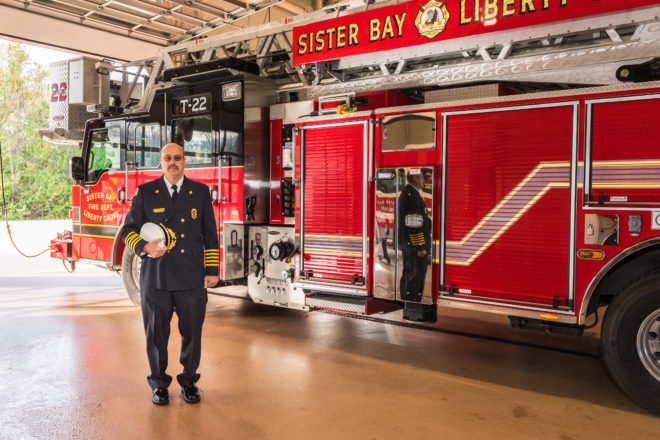 Fire Chief Chris Hecht Featured in New Book