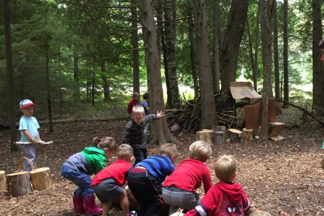 Peninsula Preschool Collaborates with The Ridges on Nature-Based Curriculum