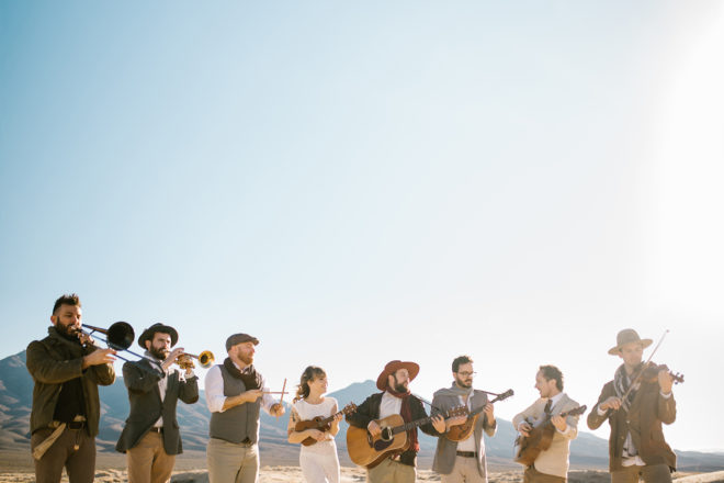 Dustbowl Revival Brings Soulful Folk-Funk to Brewery
