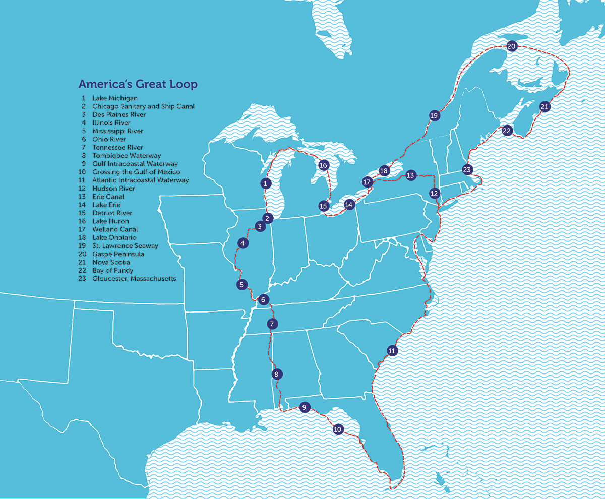 Snowbirds By Sea: Sailing South for Winter - Door County Pulse on great lakes sailing, caribbean sailing, the great loopers,