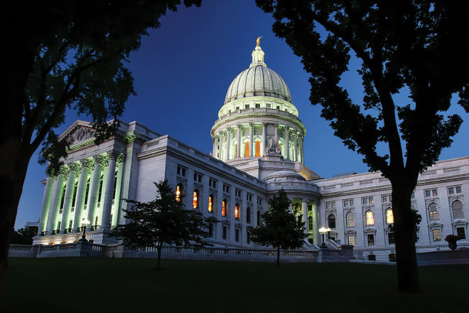 Documentary on Wisconsin State Capitol Nov. 27, Dec. 6