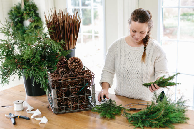 Florist Jackie Ehlert Shares Wreath-making Process