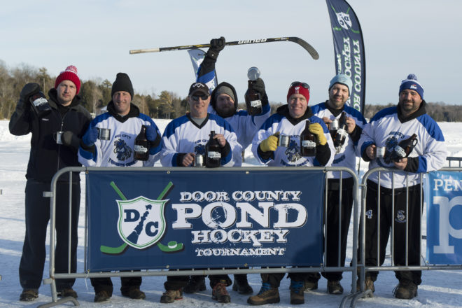 Pond Hockey Tournament Draws Crowd to Kangaroo Lake