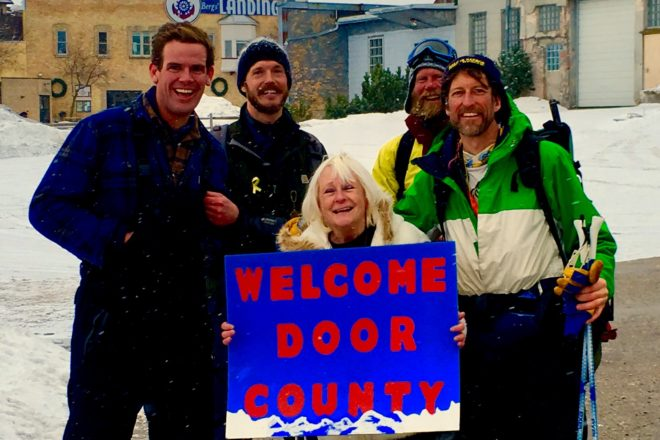 Adventurers Walk Across Green Bay for a Cause