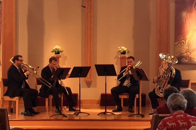 Three Trombones, Tuba Back by Popular Demand at 2018 Feb Fest