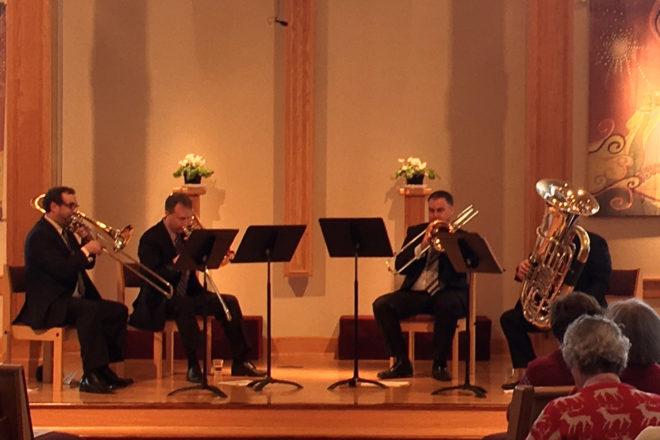 Three Trombones, Tuba Back by Popular Demand at 2018 Feb Fest