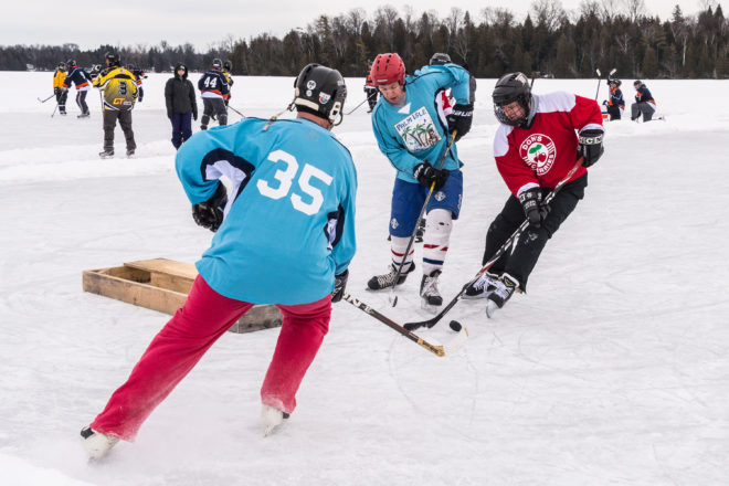 Pond Hockey Tourney Fills, Scorekeepers Wanted