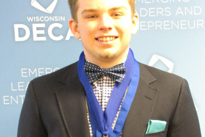 Gibraltar DECA Students Win at State Conference