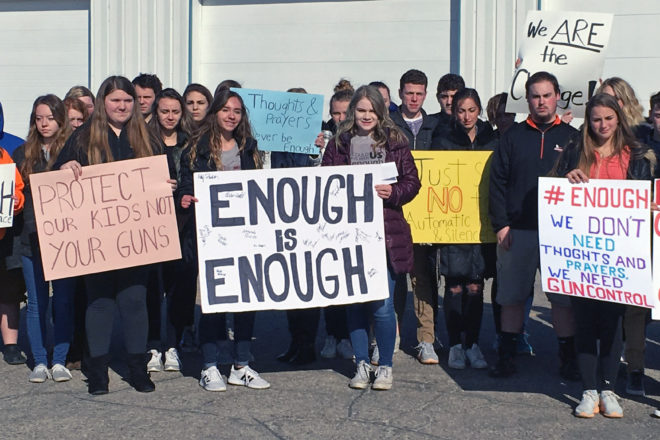 Door County Students Join National Walkout