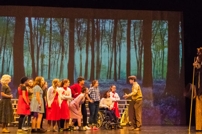 Gibraltar Students Perform 'Big Fish' This Weekend