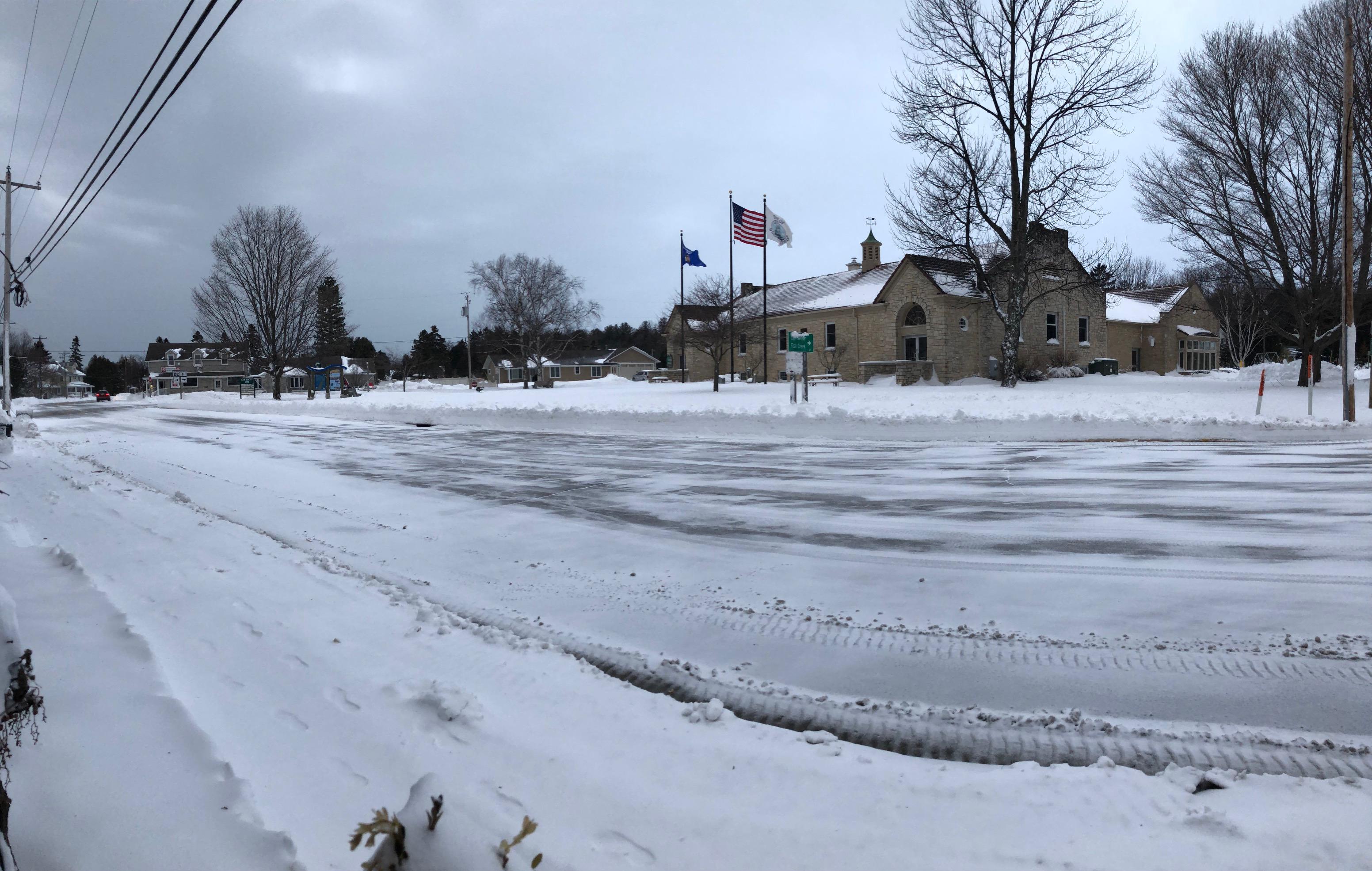 April Blizzard Buries Door County In Snow Door County Pulse