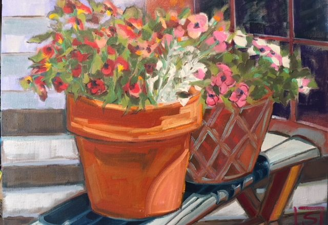 Base camp opens with oils door county pulse base camp coffee bar in sister bay is open for the season and is featuring original oil paintings by local artist susan reynolds smith surround yourself solutioingenieria Images