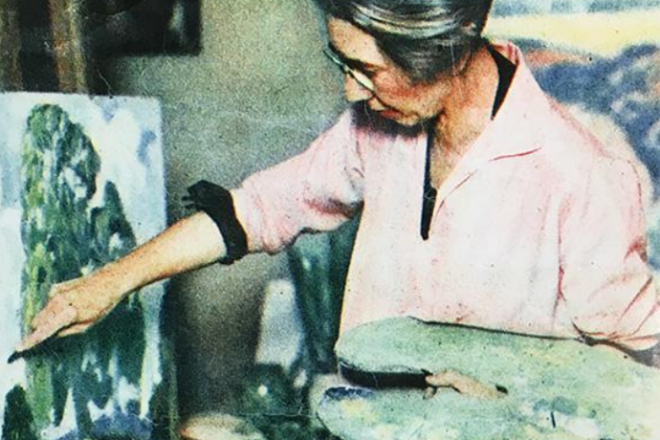 The Life & Work of Painter Jessie Kalmbach Chase