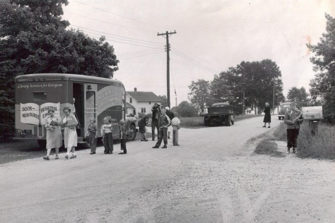 Last Driver Remembers Bookmobile Days