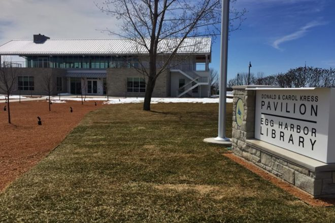 Wisconsin Library Association Head to Dedicate New Egg Harbor Library