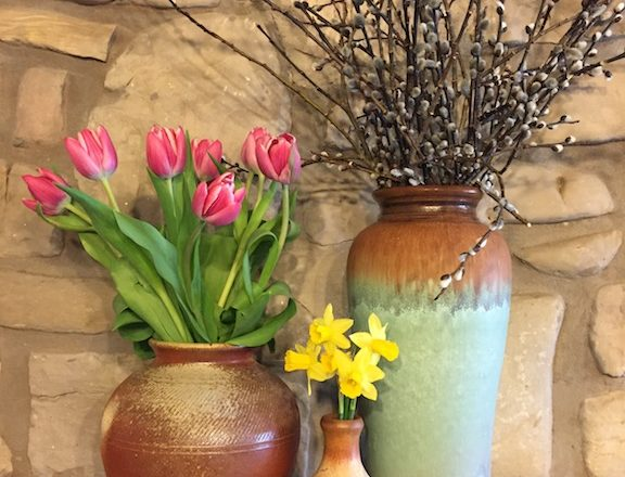 Festival of Blossoms at TR Pottery