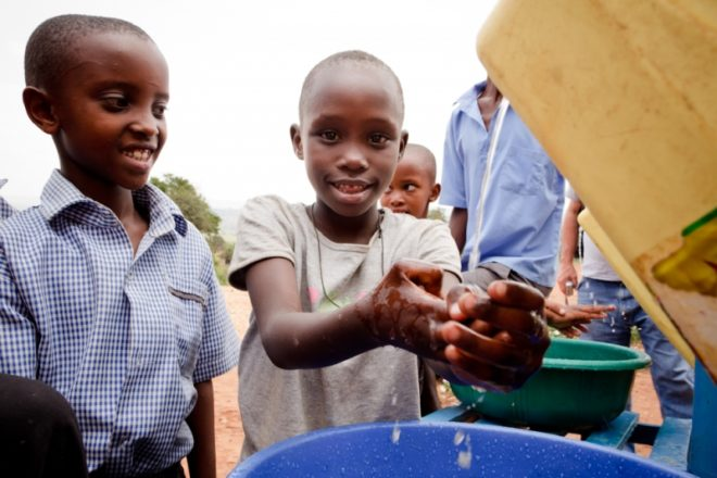 Student Councils Raise Money for Water Well