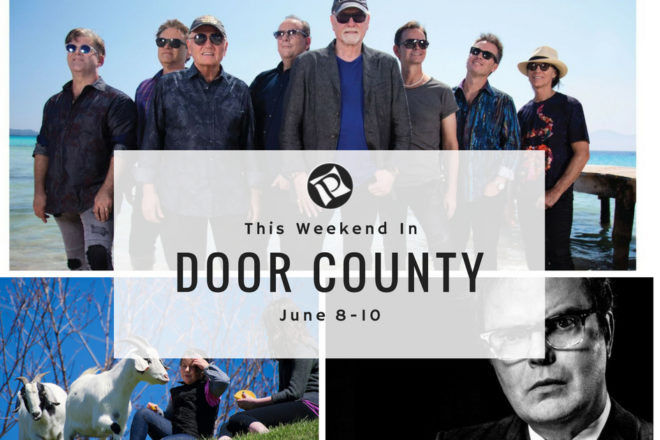 This Weekend In Door County: Lighthouses, Goat Fest, and the Beach Boys