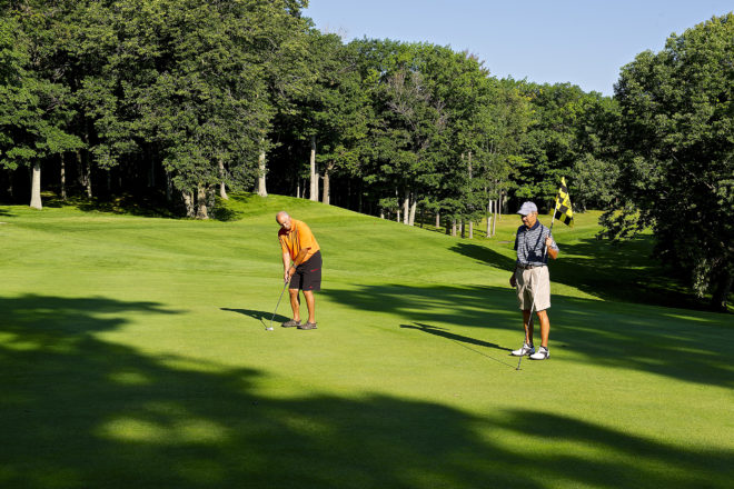 Door County's Toughest Holes: Peninsula State Park Golf Course, No. 12