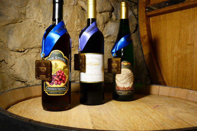 Von Stiehl Winery Wins Double Gold at International Wine Competition