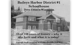 New Book Traces History of Baileys Harbor Schools to Present-day Inn