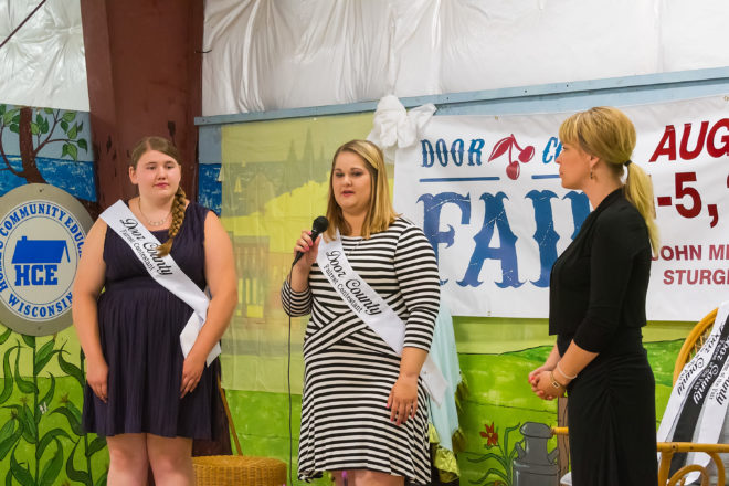 Claire Olson Crowned First Fairest of the Fair
